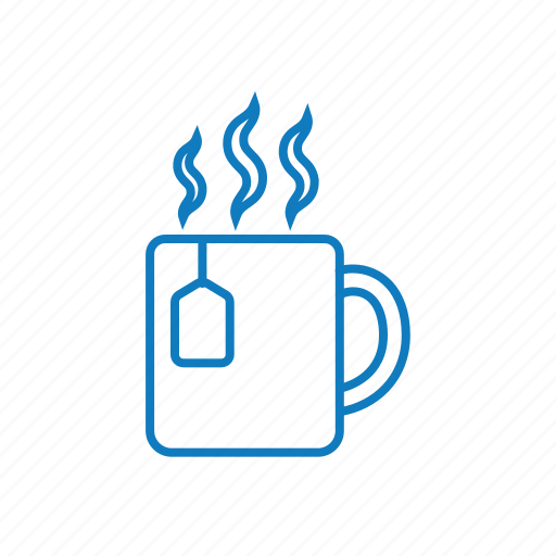 cup, drink, hot, mug, tea icon