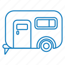 bus, transportation, travel, vehicle icon