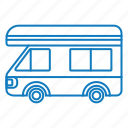 bus, drive, transport, vehicle