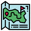location, map, park, travel icon