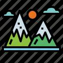 holidays, landscape, mountain, nature