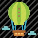 air, balloon, flight, transportation, travel