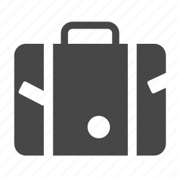 baggage, baggage claim, briefcase, luggage, suitcase, tourism, traveler icon