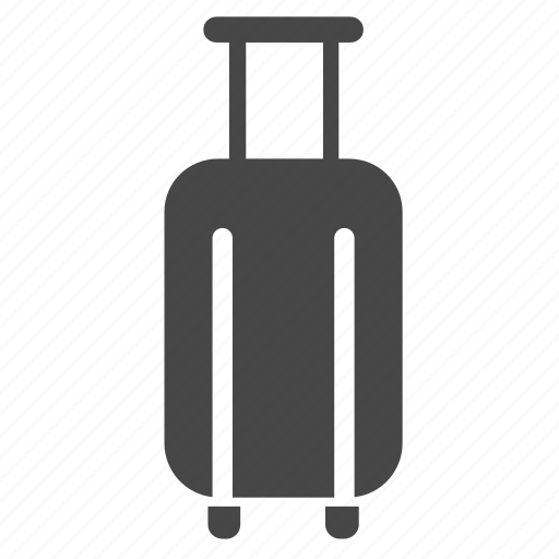 baggage, baggage claim, luggage, suitcase, tourism, travel, traveler icon