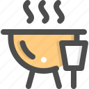 barbecue, barbeque, bbq, beefsteak, camping, picnic, summer icon
