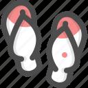 beach, sandal, sandals, slipper, slippers icon