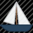 boat, sailing, yacht