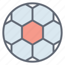 field ball, football, game, soccer ball, sports equipment icon