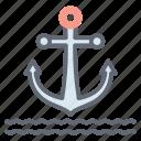 anchor, nautical symbol, navy symbol, pirate anchor, ship anchor icon