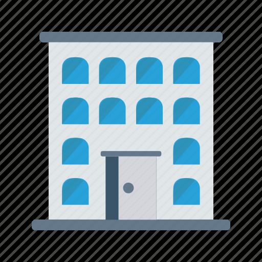 building, estate, hotel, plaza, real icon