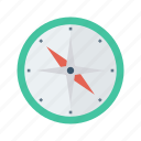 compass, direction, navigation, north, path icon