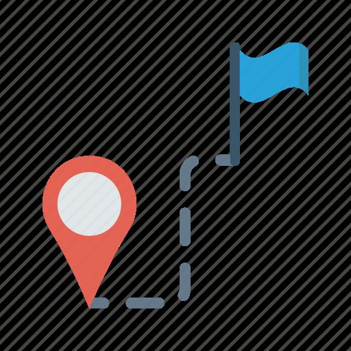 Destination, finder, location, map, pin icon - Download on Iconfinder