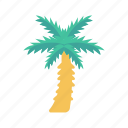beach, garden, nature, park, tree icon