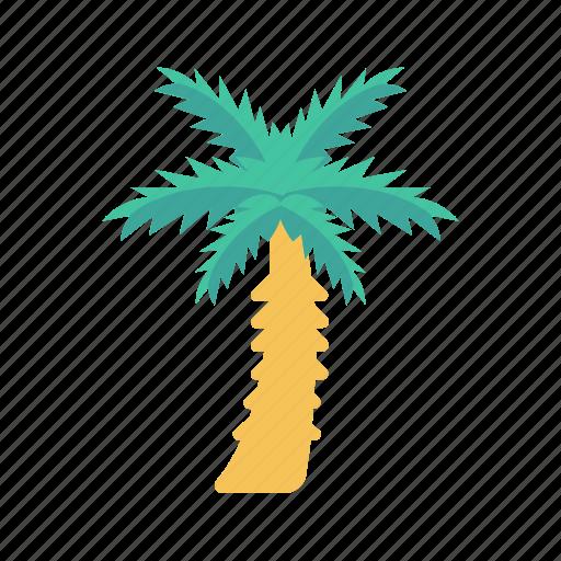 beach, garden, nature, park, tree icon