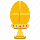 faberge egg, gold egg, gold treasure, jeweled egg, solid gold icon