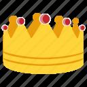 crown, gold crown, golden crown, prince crown, royal crown icon