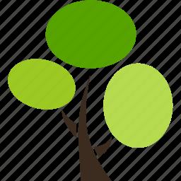 flora, nature, plant, tree icon