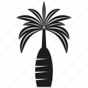 botany, forset, growth, nature, palm tree, plant, tree icon