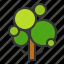 ecology, environment, garden, green, nature, pkant, tree icon
