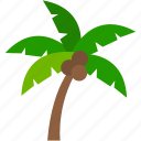 eco, ecology, environment, green, nature, palm tree, plant icon