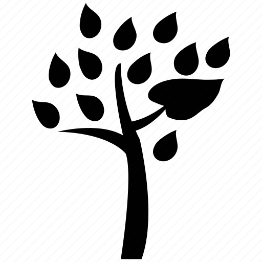 botany, forest, greenery, leaves, nature, plant, tree icon