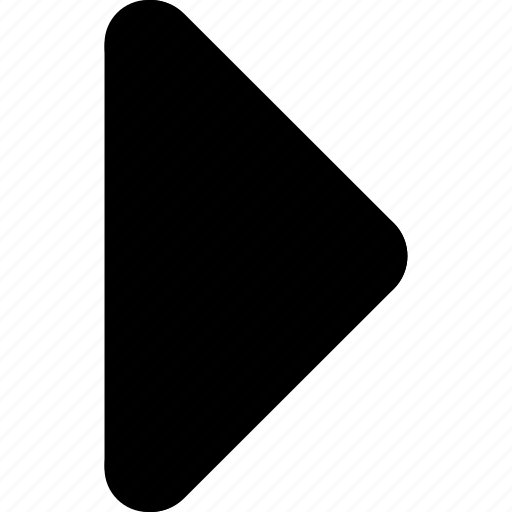 arrow, direction, filled, next, right, triangle icon