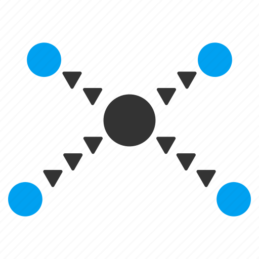 connect, connection, dotted, joined, links, network, web icon