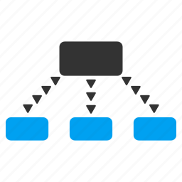 connect, connection, dotted, joined, links, network, scheme icon