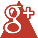 google, media, social, triangle icon