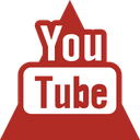 media, social, triangle, youtube icon