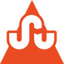 media, social, stumbleupon, triangle icon