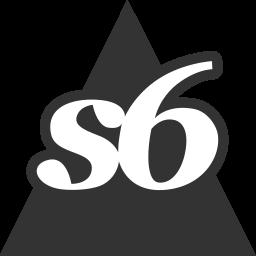 media, social, society6, triangle icon