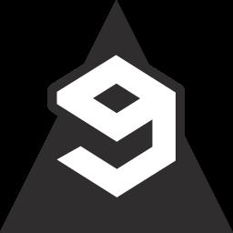 gag, media, social, triangle icon