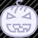 halloween, lamp, magic, pumpkin