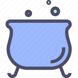 boiler, halloween, magic, potion, witchcraft icon