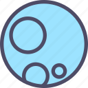 ball, full moon, halloween, moon, night, planet icon
