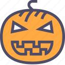 halloween, lamp, magic, pumpkin icon