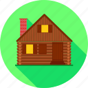 cottage, building, house, furniture, property, home icon