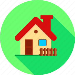 building, cotttage, estate, home, house, property icon
