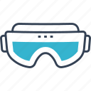 fashion, glasses, trip icon