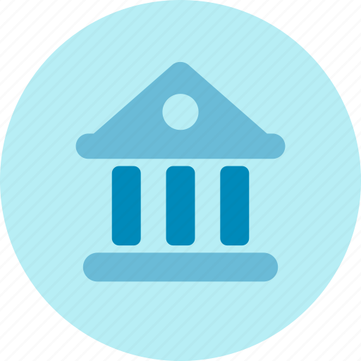 bank, building, court, location, office, organization icon