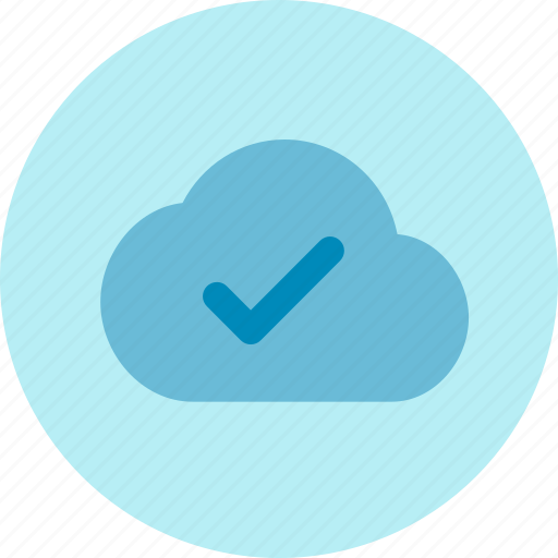 cloud, hosting, save, server, success icon