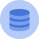 database, hosting, system, computer, server, stack, structure icon