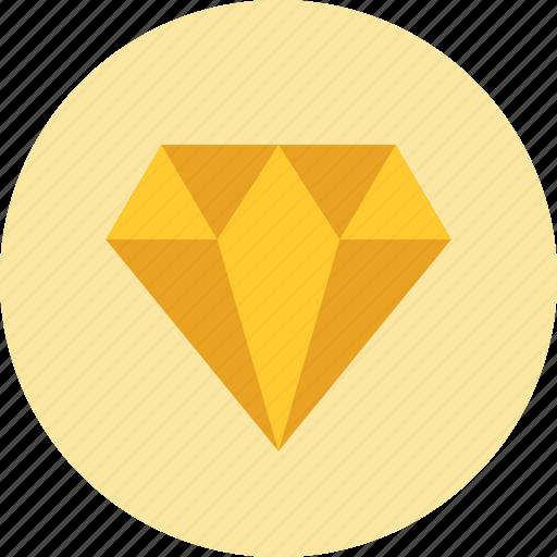 diamond, expensive, gold, jewellery, luxury, shiny, sketch icon