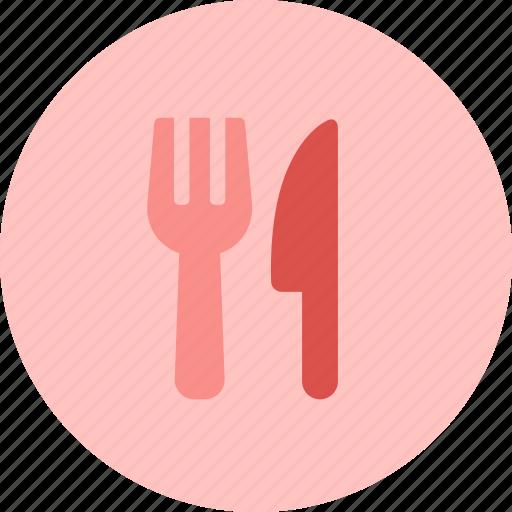 eat, food, fork, knife, restaurant, utensil icon