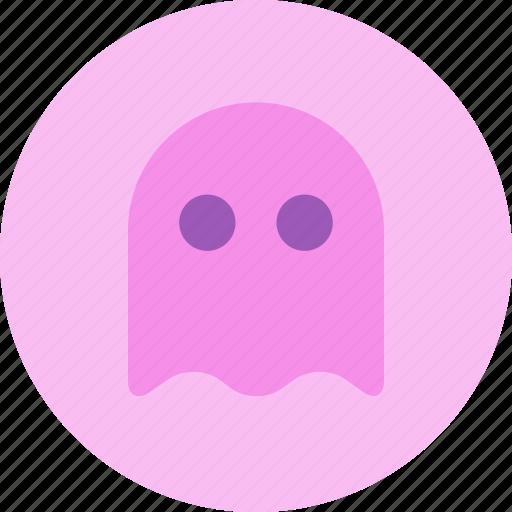 bug, ghost, pacman, virus icon