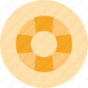 support, float, help, sea, rescue icon