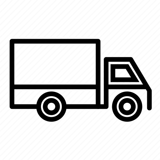 lorry, package drop, transport, transportation, truck, truck loading, trucks icon