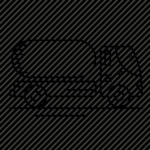 Gasoline, tank, truck, vehicles icon - Download on Iconfinder