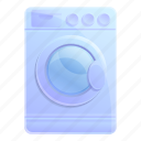 business, drying, house, machine, single, technology icon